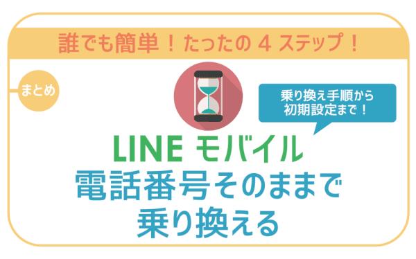 失敗なしの4ステップ!LINEモバイル乗り換え方法を注意点と共に徹底解説!